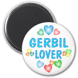 GERBIL LOVER MAGNET