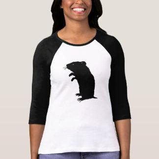 Gerbil Silhouette T-shirts