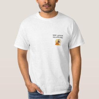 gerbil wheel, LABOR RELATIONS T-shirt