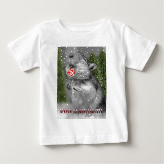 Gerbil's Christmas Dream Baby T-Shirt