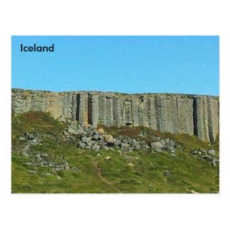 Gerðuberg Basalt Columns, Snaefellsnes, Iceland Postcard
