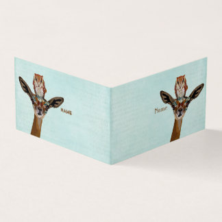 GERENUK & OWL BUSINESS CARD