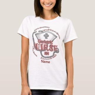 Geriatric Nurse Axiom  Women's Basic T-Shirt