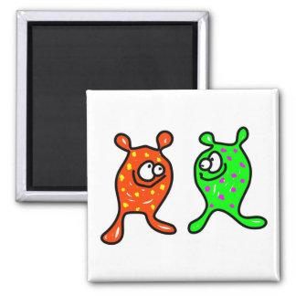Germ Buddies Square Magnet