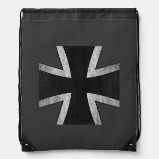 German Air Force Iron Cross insignia backpack
