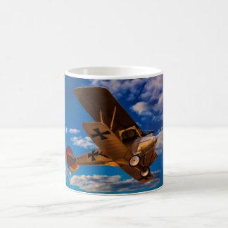 German Albatross in World War 1 in Flight Coffee Mug