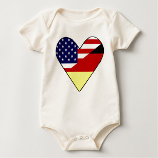 German - American Baby Bodysuit
