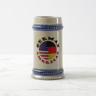 german american beer stein