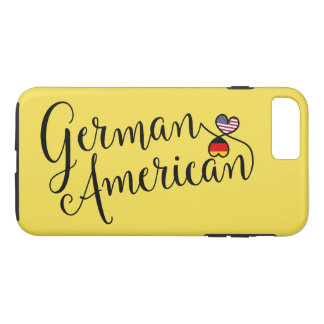 German American Entwined Hearts Cell Phone Case