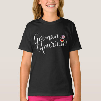 German American Entwinted Hearts T-Shirt