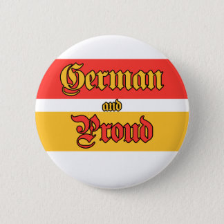 German and Proud 2 Inch Round Button