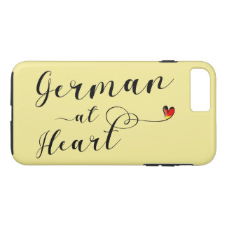 German At Heart Cell Phone Case
