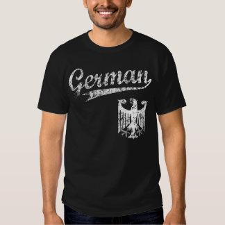 German Baseball Style t shirt