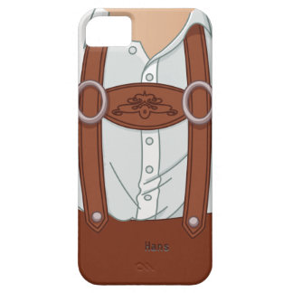 German Bavarian Lederhose Case For The iPhone 5