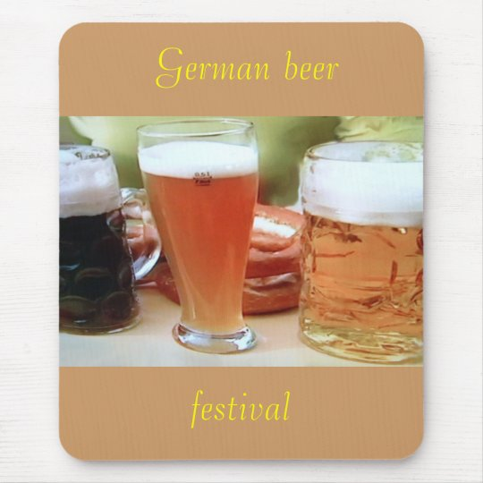 German beer, festival mousepad
