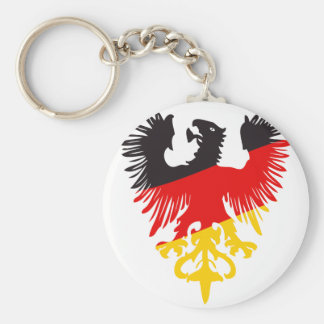 German Black Eagle Keychain