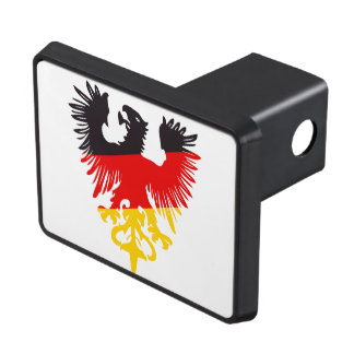 German Black Eagle Trailer Hitch Cover