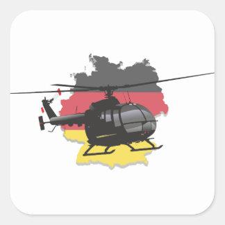 German black helicopter sticker