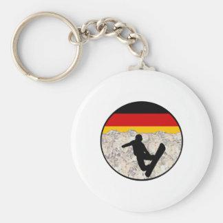 German Boarders Keychain