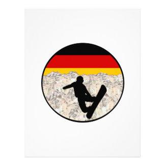 German Boarders Letterhead
