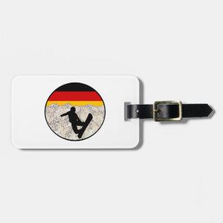 German Boarders Luggage Tag
