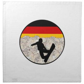 German Boarders Napkin