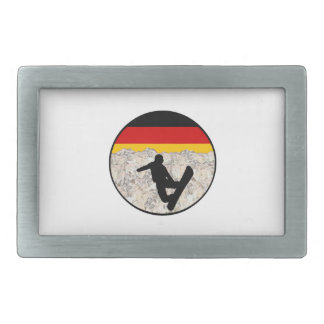 German Boarders Rectangular Belt Buckle