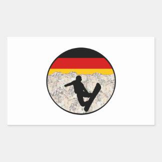 German Boarders Sticker