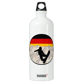 German Boarders Water Bottle