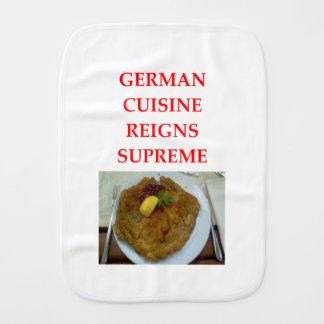 GERMAN BURP CLOTH