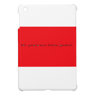 German -Castle Case For The iPad Mini