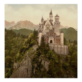 German Castle Neuschwanstein Poster