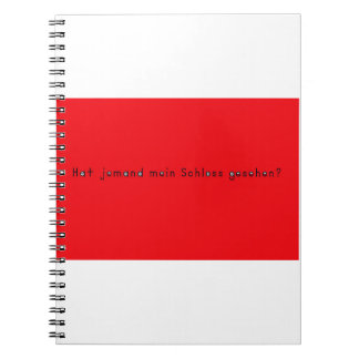 German -Castle Notebooks