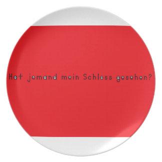 German -Castle Plate