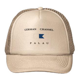 German Channel Palau Alpha Dive Flag Trucker Hat