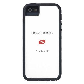 German Channel Palau Scuba Dive Flag iPhone 5 Cases