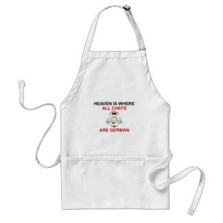 German Chefs Standard Apron