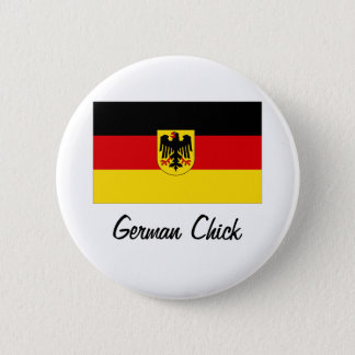 German Chick Button