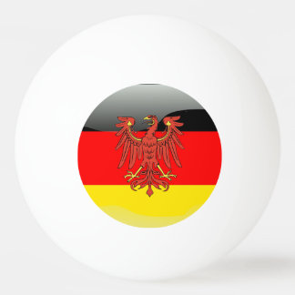 German Coat of arms Ping Pong Ball