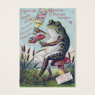 German Cologne Frog Business Card