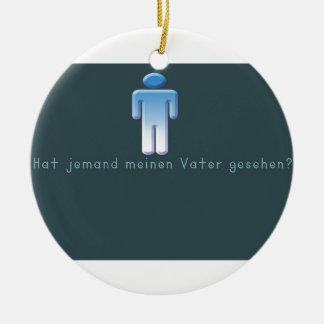 German -Daddy Ceramic Ornament