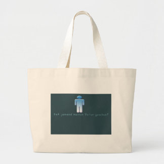 German -Daddy Large Tote Bag
