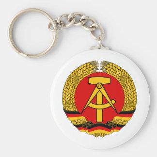 German demo CRA TIC Republic (GDR) Keychain