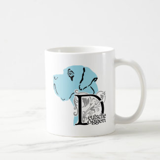 German: Dogge Coffee Mug