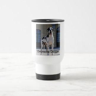 German Dogge, great dane, Hunde, Dogue Allemand Travel Mug