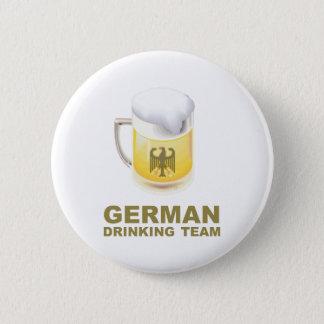 German Drinking Team 2 Inch Round Button