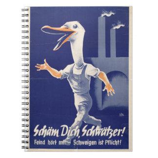"""""""German Duck"""" Trendy Notebook"""