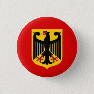 German Eagle Badge 1 Inch Round Button