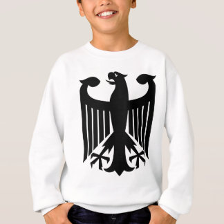 German Eagle Black Sweatshirt