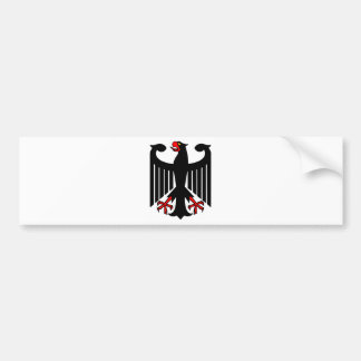 German Eagle Bumper Sticker